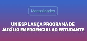 Uniesp Lança Programa de Auxílio Emergencial para estudantes
